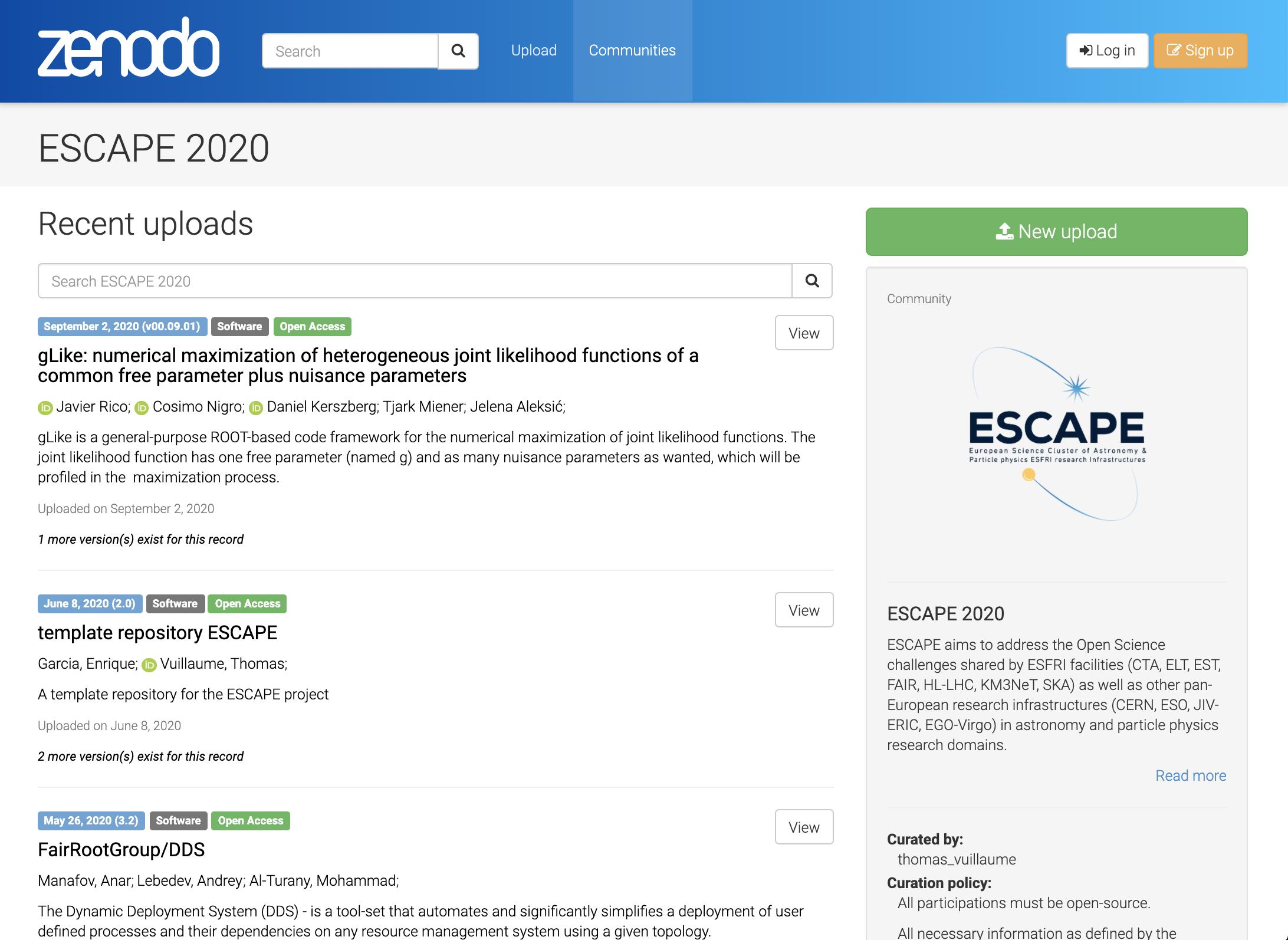 ESCAPE-repository